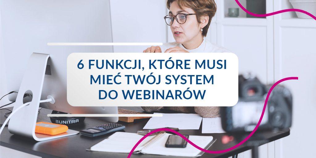system do webinarów